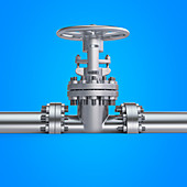 Illustration of a valve