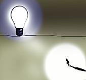 Personal goals, conceptual illustration