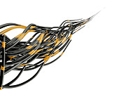 Network cables, illustration