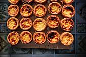 Pastel de Nata (Portuguese tartlets)