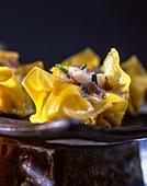 Steamed ravioli