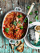 Chickpea and Pine Nut Stew