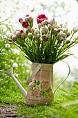 Strauß aus mehrblütigen Tulpen