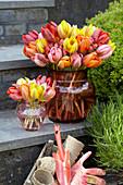 Sträuße aus gemischten Tulpen 'Princess'