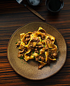 Pappardelle with lamb ragout and gremolata