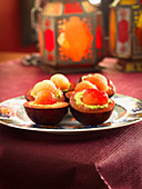 Stuffed plums