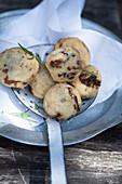 Crispy fried dough balls (Italy)