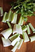 Sliced celery