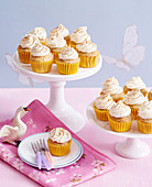 Orange Pumpkin Cupcakes