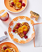 Superfoods For Babies and Toddlers - Toddlers - Breakfast - French Toast with Raspberries and Poaches Apricots