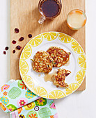 Superfoods For Babies and Toddlers - Toddlers - Breakfast - Zucchini and Cranberry Pikelets