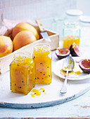 Mango, Passionfruit and Lime Jam