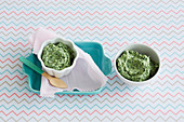 Ricotta and Spinach Puree for babies (6-9 Months)