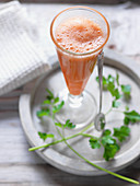 Apfel-Karotten-Smoothie