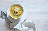 Grisons barley soup