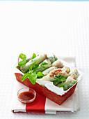 Hoisin Turkey Rice Paper Rolls