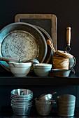 Verschiedene Vintage-Küchenhelfer