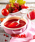 Tomato and redcurrant jam