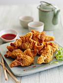 Crunchy wontons (Asia)