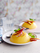 Mango puddings (China)