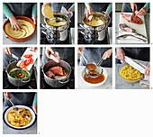 Couscous alla trapanese (Couscous mit Fisch, Italien) zubereiten