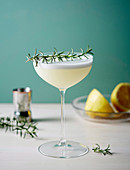 Herbaceous style gin with rosemary and lemon