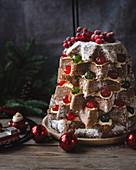 Italian Pandoro Christmas cake