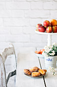 Apricot beignets