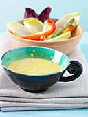 Aioli and raw vegetables
