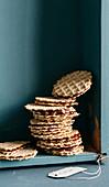 Stroopwafel (Dutch caramel waffles)