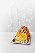 Persischer Reis-Karotten-Kuchen