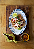 Mexican chicken-chipotle Tacos