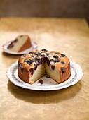 Sunken cherry cake
