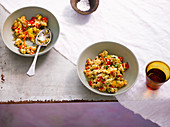 Couscous and pepper salad