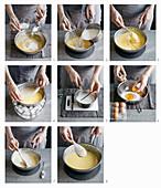 How to make pastry cream and vanilla sauce
