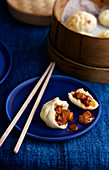 Char Siu Bao (steamed pork buns, China)