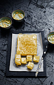 Chrysanthemum Jelly Squares