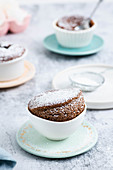 Chocolate souffle without flour