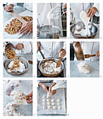 How to make brutti e buoni (biscuits with hazelnuts, Italy)