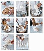 Brutti e buoni (Schaumgebäck mit Haselnüssen, Italien) backen
