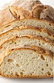 Sliced Italian white bread