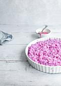 Pink rice