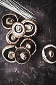 Portobello mushrooms