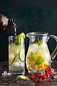 Munich Mule and Lemon and Ginger Pop