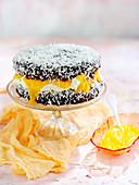 Mango Lamington cake