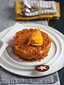 Sponge cake with bitter orange sauce