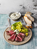 Roast beef with remoulade sauce