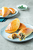 Pastry parcels filled with minced meat