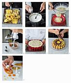 How to make Budino al panettone con cioccolata (panettone pudding with chocolate sauce, Italy)