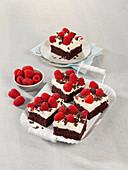Schokoladen-Himbeer-Tarte